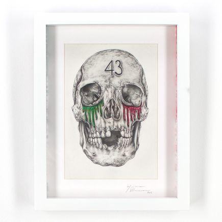 Mariana Villanueva Original Art - Mexico Lindo Y Que-herido