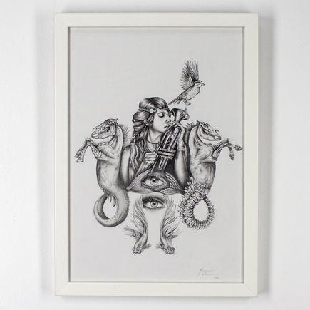 Mariana Villanueva Original Art - Senora Kong