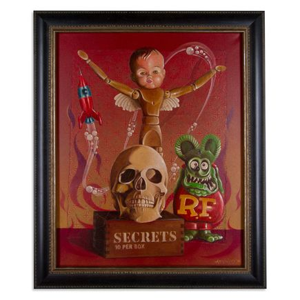 Mark Arminski Original Art - 10 Secrets