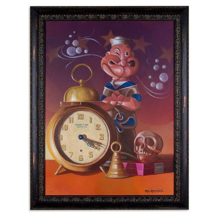 Mark Arminski Original Art - Good Time Clock Co.