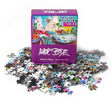 Mark Bode Art - Miami Mice Puzzle