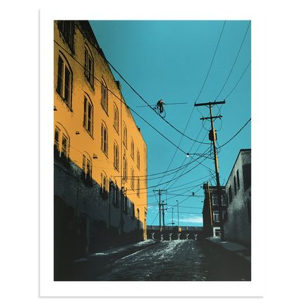 Mark Brabant Art - Aerialists On W. 24th - Variant
