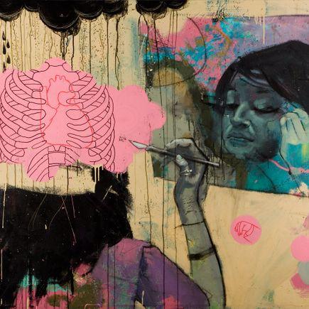Mark Heggie Art - Whore Has A Face