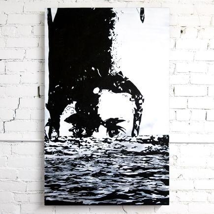 Marlo Broughton Original Art - Boy Under Water