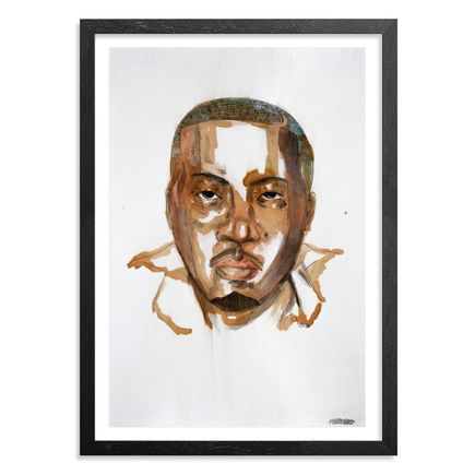 Marlo Broughton Original Art - Nas - Original Artwork