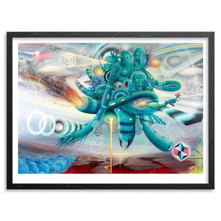 Doze Green + Mars1 Art Print - Terraformer - Framed