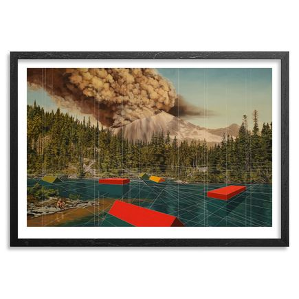 Mary Iverson Art - Mount Rainier - Standard Edition - Framed