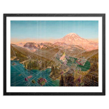 Mary Iverson Art Print - Smoke Rolling In, Mount Rainier National Park - Standard Edition