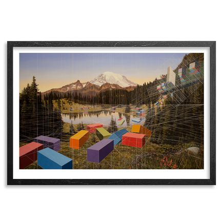 Mary Iverson Art Print - Tipsoo Lake - Standard Edition