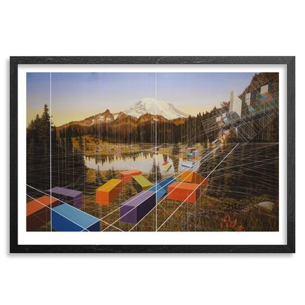 Mary Iverson Art Print - Tipsoo Lake - Hand-Embellished Edition