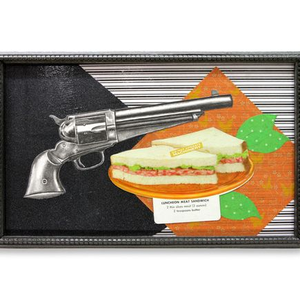 Mary Williams Original Art - Meat Sammich