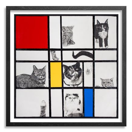 Mary Williams Art Print - Composition With Cats