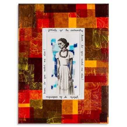 Mary Williams Original Art - Frida (Translation: Fuck You I Won't Do What You Tell Me)