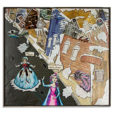 Mary Williams Original Art - Frozen In Detroit