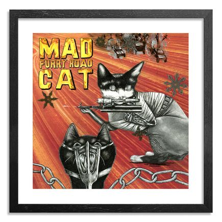Mary Williams Art Print - Mad Cat: Furry Road - Limited Edition Prints