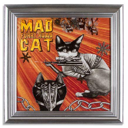 Mary Williams Original Art - Mad Cat: Furry Road - Original Artwork