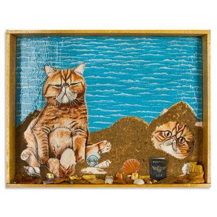 Mary Williams Original Art - Seamus & Angus By The Sea