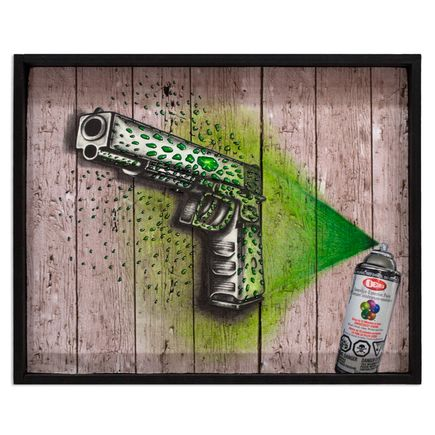 Mary Williams Original Art - SpRAY Gun