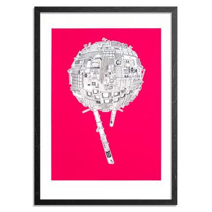 Sashie Masakatsu Art Print - Ayumi - Pink Edition