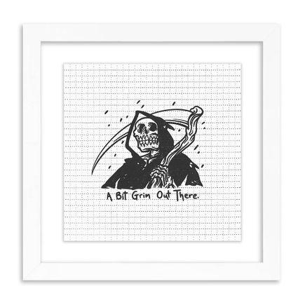 Matt Bailey Art Print - A Bit Grim Out There - Blotter Edition