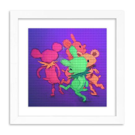 Matt Gordon Art Print - Happy Bears - Blotter Edition