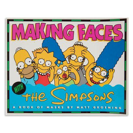 Matt Groening Art - Making Faces: The Simpsons