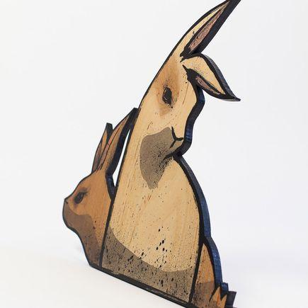 Max Neutra Original Art - Into Oblivion - Wood - 6 of 6