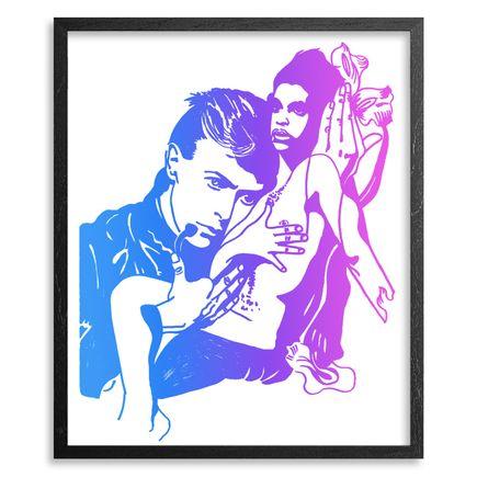 Maya Hayuk Art Print - Farewell My Hero & Prince - Hawaii Edition<br>