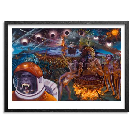 Mear One Art Print - Dawning Of A New Age