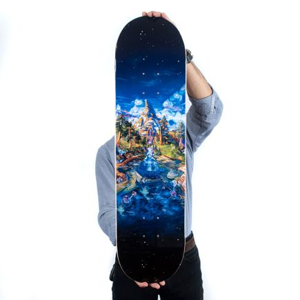 Mear One Art Print - DMT Mountain - Skate Deck Variant