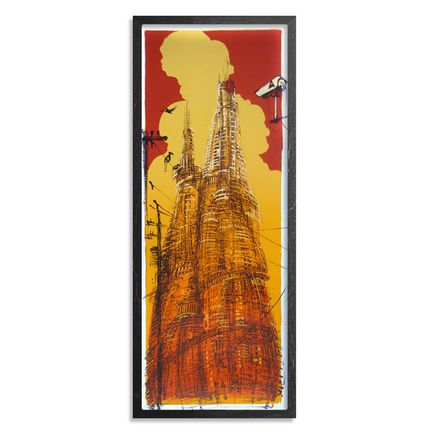 Mear One Art Print - Towers of Babylon