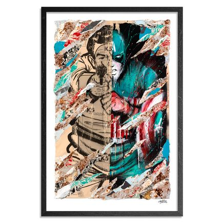 Meggs Art - Avenge Me - Limited Edition Prints - Framed