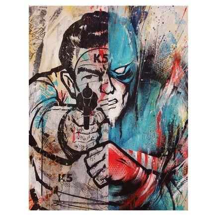 Meggs Original Art - Captain America Target Classic Edition 1