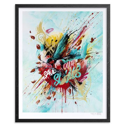 Meggs Art - The Swallow (Save Our Seas) - Framed