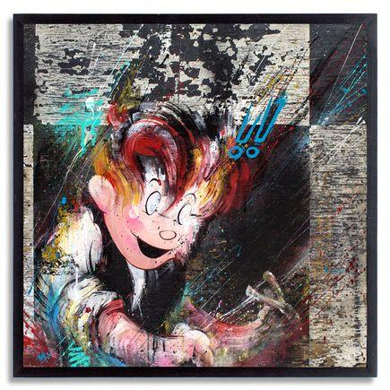 Meggs Original Art - Spoiled Rotten aka Meggsy