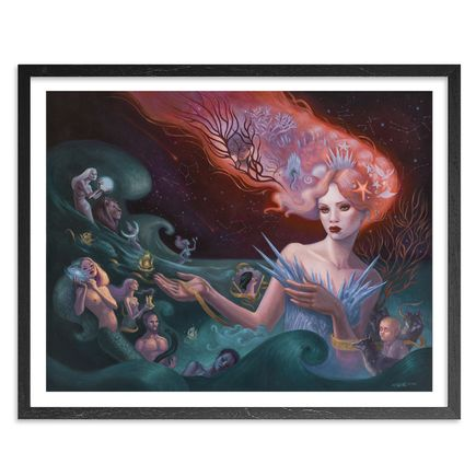 Mia Araujo Art Print - Hymn To The Sea - Standard Edition