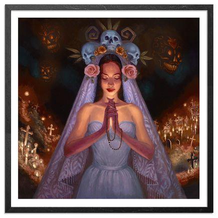 Mia Araujo Art - Santa Muerte - Standard Edition - Framed