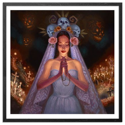 Mia Araujo Art Print - Santa Muerte - Standard Edition