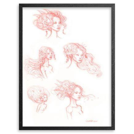 Mia Araujo Original Art - Hymn To The Sea Study 3