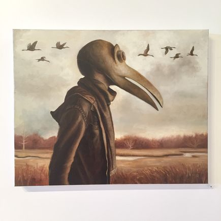 Michael Ramstead Original Art - To Be One Of The Winged
