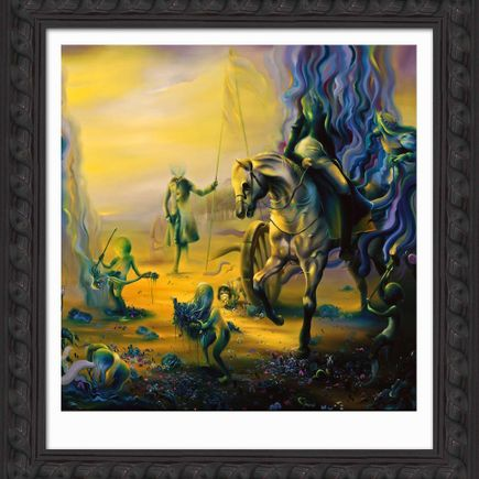Michael Page Art Print - Late Light (Hand-Embellished Edition)