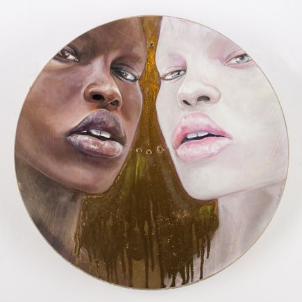 Michelle Tanguay Original Art - Stay Gold