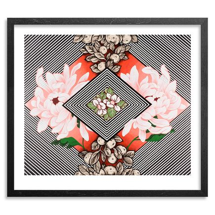 Ouizi X Michelle Tanguay Art Print - Floral Corral