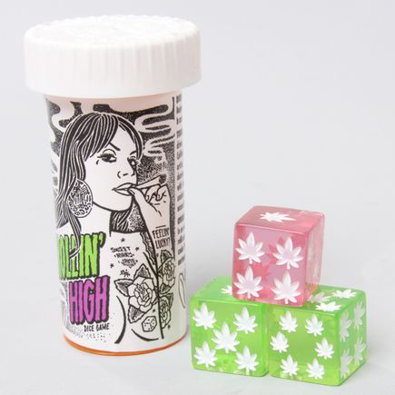 Mike Giant Art - Roillin' High Dice Set