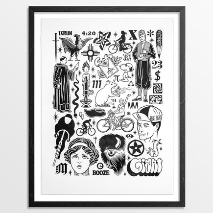 Mike Giant Art Print - 4:20 - Limited Edition Prints