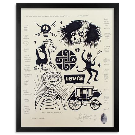 Mike Giant Original Art - Levi's - Original Artwork