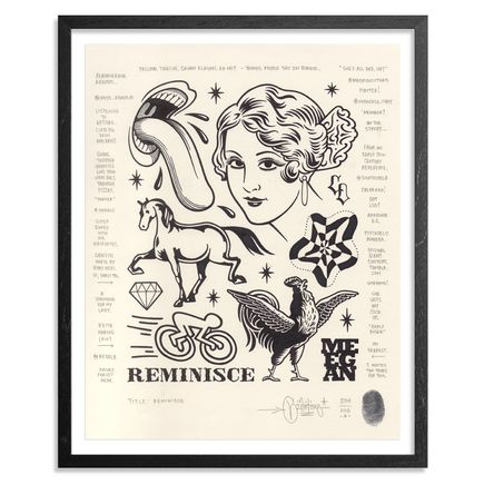 Mike Giant Original Art - Reminisce - Original Artwork