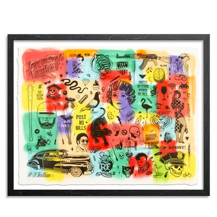 Mike Giant Art Print - Resist - HPM - 2 of 10