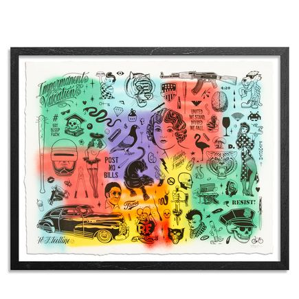 Mike Giant Art Print - Resist - HPM - 4 of 10