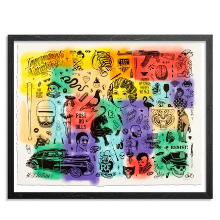 Mike Giant Art Print - Resist - HPM - 6 of 10